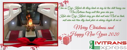 Thư chúc mừng giáng sinh và năm mới 2020 từ tàu NewLivitrans