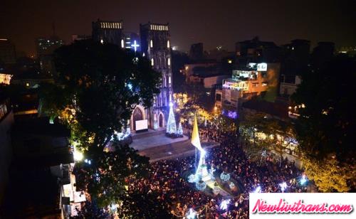 Những điểm Vivu Dịp Giáng Sinh 2017 Tuyệt Đẹp Tại Hà Nội