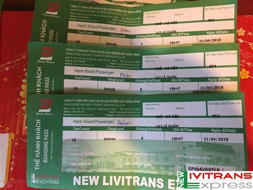 Vé tàu Tết 2018 chưa bán chặng ngắn