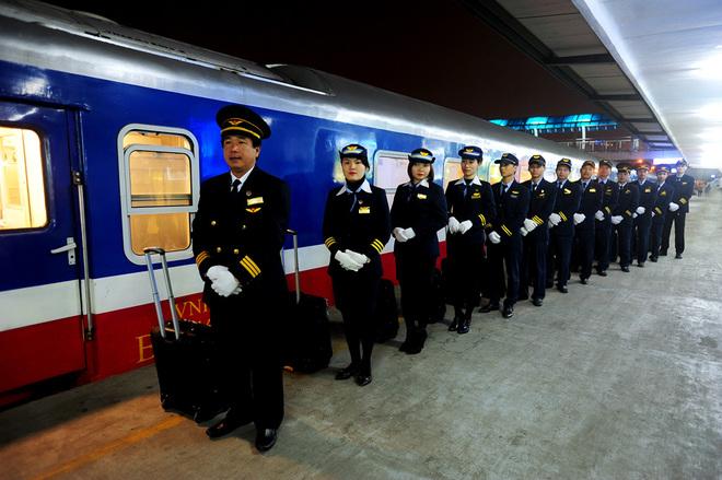 Đội ngũ nhân viên nhành đường sắt
